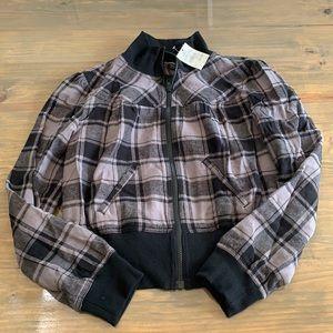Cato zip up bomber jacket. Size small.